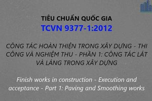 TCVN 9377-1:2012
